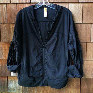 EUC Lucy Zip Front Track Jacket - Women's XL